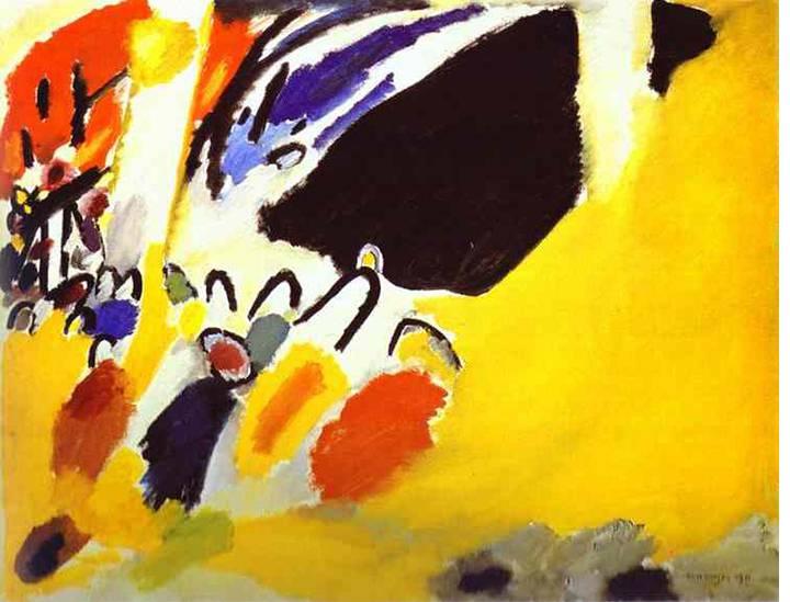 Wassily Kandinsky, Impression III, Konzert, 1911